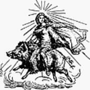 Mythology: Fro (freyr) Art Print