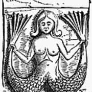 Mythology: Mermaid Art Print by Granger
