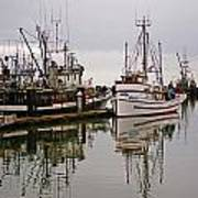 Nafco Fishing Boat Art Print
