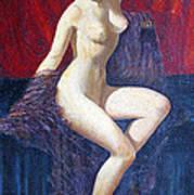 Naked Beauty Art Print