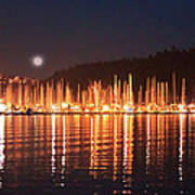 Nanaimo Harbour Art Print by Dayvid Clarkson