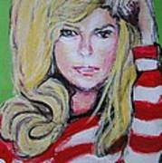 Nanct Sinatra Art Print