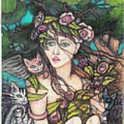 Nancy Jo Heart Of Gold Art Print