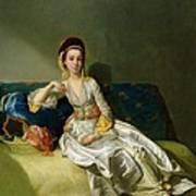 Nancy Parsons In Turkish Dress Art Print