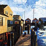 Nantucket Art Print by Anthony Falbo