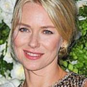 Naomi Watts At Arrivals For Chanel 6th Art Print by Everett