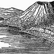 Naples: Monte Nuovo, 1887 Art Print
