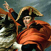 Napoleon Crossing The Alps On 20th May 1800 Art Print