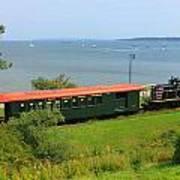 Narrow Gauge Railroad Portland Maine Art Print