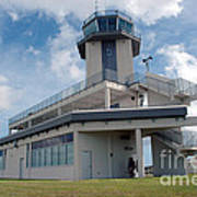 Nasa Air Traffic Control Tower Print by Nasa