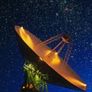 Nasa Deep Space Tracking Station, Australia Art Print