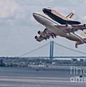 Nasa Enterprise Space Shuttle Art Print