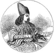 Naser Al-din Art Print