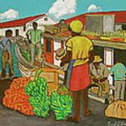 Nassau Fruit Boat Art Print