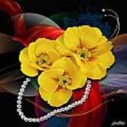 Natalys Flower Art Print
