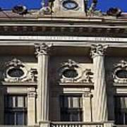 National Bank Of Romania Art Print