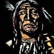 Native American Elder Art Print