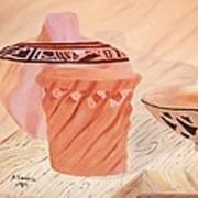 Native American Pottery Art Print by Alanna Hug-McAnnally