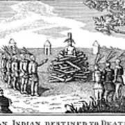 Native American Punishment Art Print
