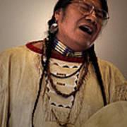 Native Cheyenne Chant Art Print