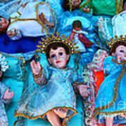 Nativity Scene Figures Art Print