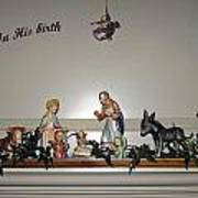 Nativity Set Art Print