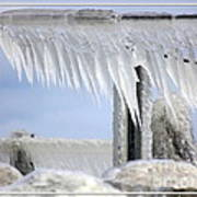 Natures Ice Sculptures1 Art Print