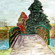Natures Pathway Art Print