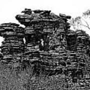 Natures' Ruins Art Print