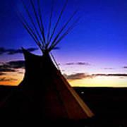 Navajo Night Art Print