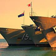 Naval Joint Ops V4 Art Print