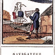 Navigator, 19th Century Art Print