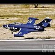 Navy Landing Art Print
