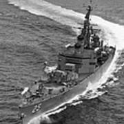 Navy: Uss Bainbridge, 1968 Art Print
