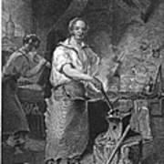 Neagle: Blacksmith, 1829 Art Print