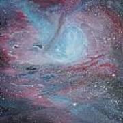Nebula 2 Art Print by Siobhan Lawson