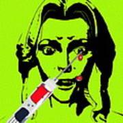 Needle Phobia Art Print