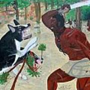 Neg Mawon Haiti 1791 Art Print by Nicole Jean-Louis