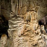 Nerja Caves In Spain Art Print