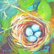 Nest Of Prosperity 1 Art Print