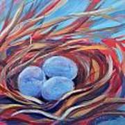 Nest Of Prosperity 3 Art Print