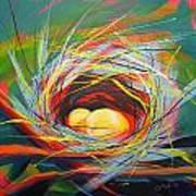 Nest Of Prosperity 7 Art Print