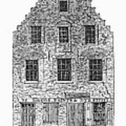 New Amsterdam: House, 1626 Art Print
