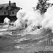 New England Hurricane, 1938 Art Print