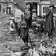 New England: Quaker, 1660 Art Print