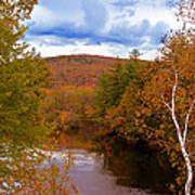 New Hampshire Fall Color Part Three Art Print
