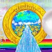 New Jerusalem Closeup - City Of God's Kingdom On Earth Art Print