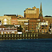 New London Waterfront Art Print