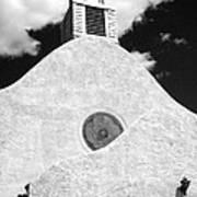 New Mexico Church Print by Sonja Quintero