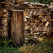 New Mexico Door II Art Print